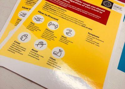 Alphabet Signs Safety Signage