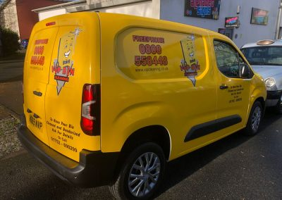Alphabet Signs Vehicle Wrapping Plymouth